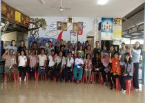 """การประชุมโครงการ """"การยกระดับขีดความสามารถของชุมชนชายฝั่งในการเพาะเลี้ยง และการจัดการทรัพยากรหอยแครงในพื้นที่อ่าวไทยตอนบน"""""""